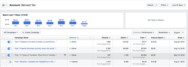 How to get from 0 to 15,000 views a month in 5 months #travel #blogging #casestudy #blog #socialmedia #marketing - Facebook Ads