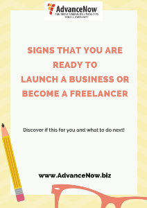 Signs that you are ready to launch a business or become a freelancer