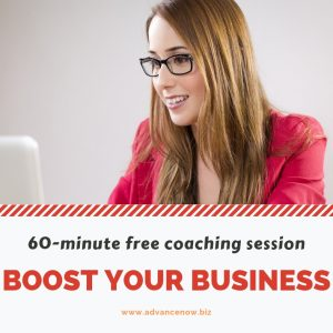 Boost Your Business free coaching sessions