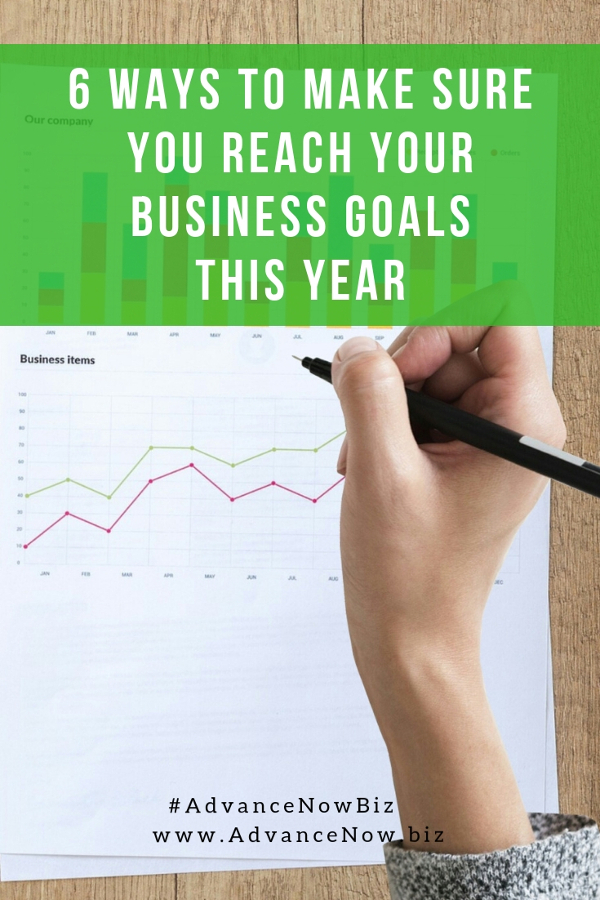 6 ways to make sure you reach your business goals for this year. Discover how to reach your goals from Loredana Pascal, business coach and mentor with 14 years of business experience #businesscoaching #businesscoach #coachingtosuccess #entrepreneur #entrepreneurship #businesstips