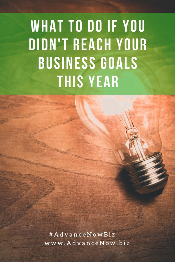 What to do if you didn't reach your business goals this year - and how to make sure you reach the goals you set for the next year! #businesscoaching #businesscoach #coachingtosuccess #entrepreneur #entrepreneurship #businesstips