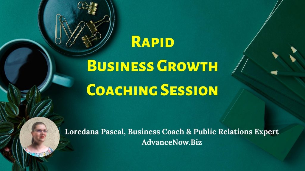 Rapid Business Growth Coaching Session